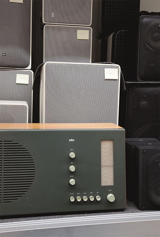 Dieter Rams Radios.